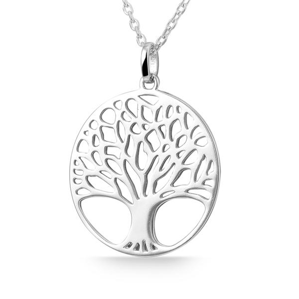Giulia Luna-Halskette Anhänger Lebensbaum Schöpfung 925er Silber GL5210007
