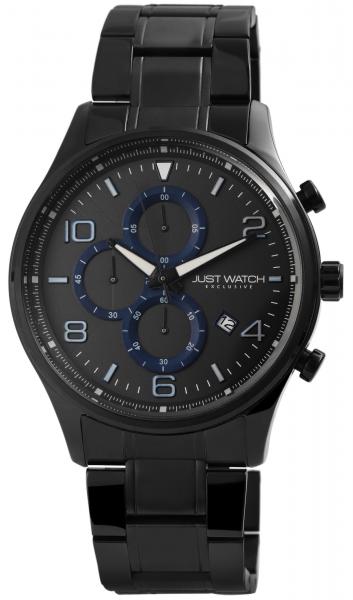 Just Watch Exclusive Herren-Uhr Edelstahl Chronograph JWE002 Datum Quarz JW20079