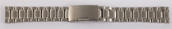 7daysin-Ersatzarmband Gliederarmband Edelstahl Faltschließe Stegbreite 8100070