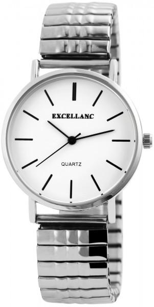 Excellanc Damen - Uhr Analog Quarz Metall Zugband Armbanduhr 1700036