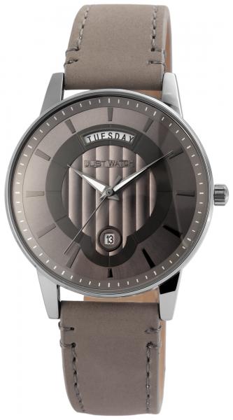 Just Watch Herren-Uhr Leder Armband Wochentag Datum JW173 Analog Quarz JW20018