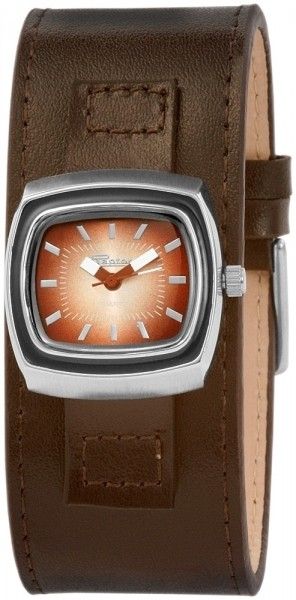 Raptor Damen-Uhr Echtleder Armband Analog Quarz RA10091