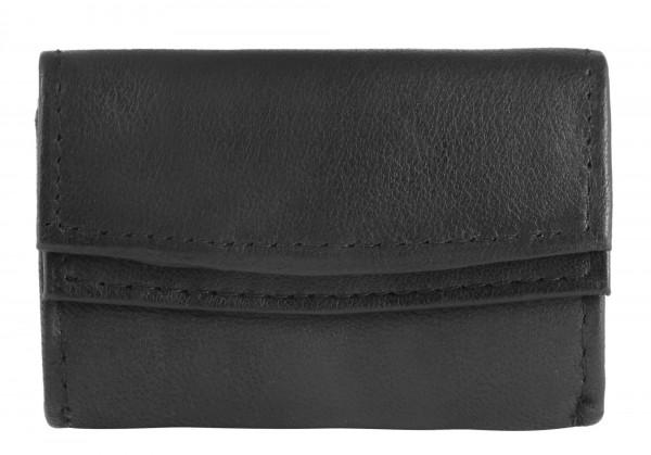 Excellanc Unisex-Mini Geldbörse Echt Leder Querformat 9 x 5 x 2 cm 3000172