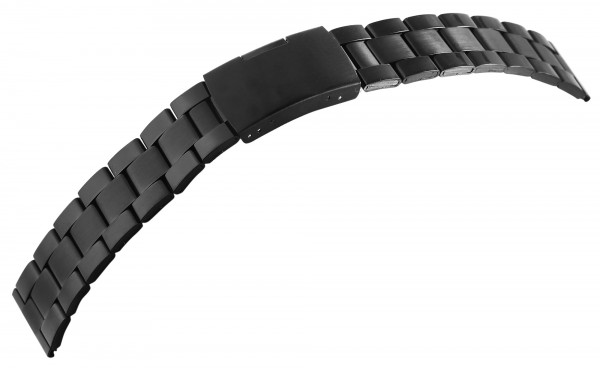 7daysin-Ersatzarmband Gliederarmband Edelstahl Faltschließe Stegbreite 8100090