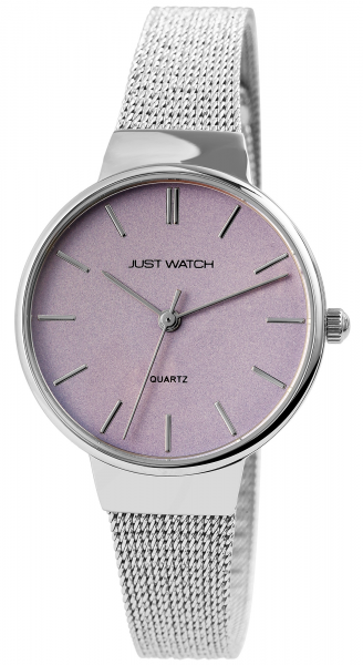 Just Watch Damen-Uhr JW267 Milanaiseband Hakenverschluß Analog Quarz JW10132