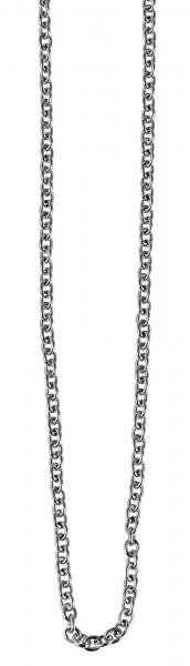 Akzent Edelstahl Halskette, Länge: 59 cm / Stärke: 2 mm