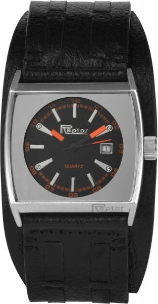 Raptor Herren - Uhr Echt Leder Armbanduhr Analog Quarz 297921000030