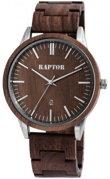 Raptor Herrenuhr aus Holz