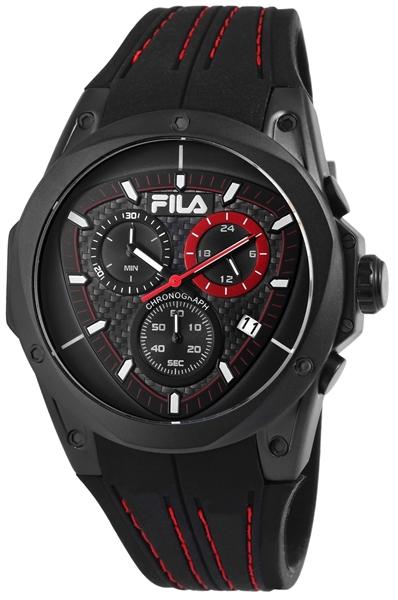 Fila Unisex - Uhr Analog Quarz Armbanduhruhr mit Silikon Armband 38-821-004