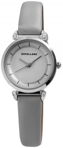Excellanc Damen – Uhr Lederimitationsarmband Analog Quarz Armbanduhr 1900148