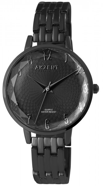 Akzent Exclusive Damen - Uhr Metall Armbanduhr Analog Quarz 1800197