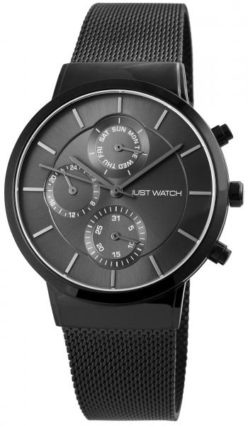 Just Watch Herren-Uhr JW127 Milanaiseband Multifunktion Analog Quarz JW20076