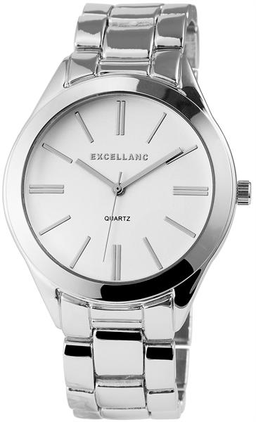 Excellanc Damen-Uhr Metallarmband Clipverschluss Elegant Rund Analog Quarz 1800050