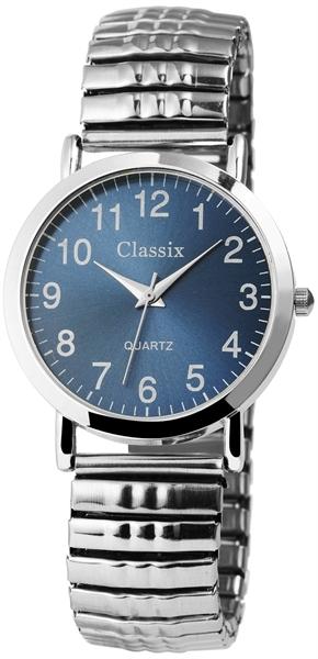 Classix Herren – Uhr Zugarmband Armbanduhr Analog Quarz 2700007