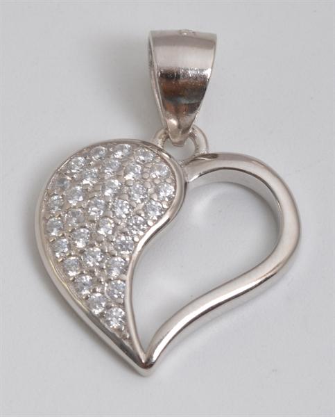 Giulia Luna Damen-Halskette Anhänger Herz Liebe Love 925er Silber GL5210050