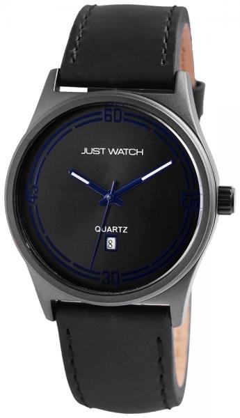 Just Watch Bennet Herren-Uhr Echt Leder Leuchtzeiger Datum Analog Quarz JW20024