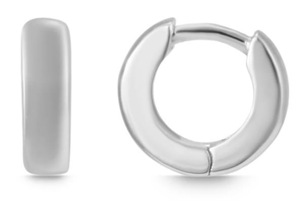 Giulia Luna Damen – Creolen 925er Silber rhodiniert Ohrringe GL5200068
