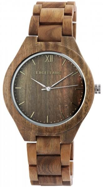 Excellanc Herrenuhr aus Holz