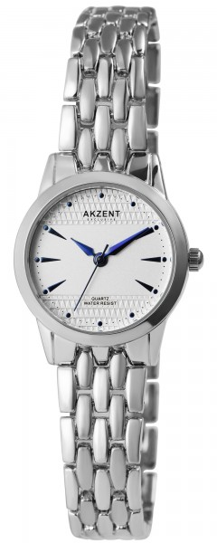 Akzent Exclusive Damen - Uhr Metall Armbanduhr Analog Quarz 1800199