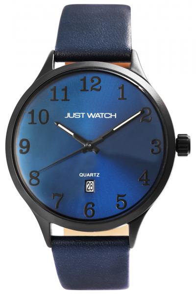 Just Watch Herren-Uhr Echt Leder Dornschließe Datum JW260 Analog Quarz JW20129