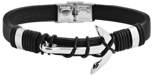 Akzent Unisex Echtleder Armband