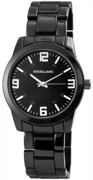 Excellanc Herren - Uhr Metall Armbanduhr Analog Quarz 2800043