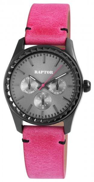 Raptor Damen-Uhr Armband Oberseite Echt Leder Analog Quarz RA10113