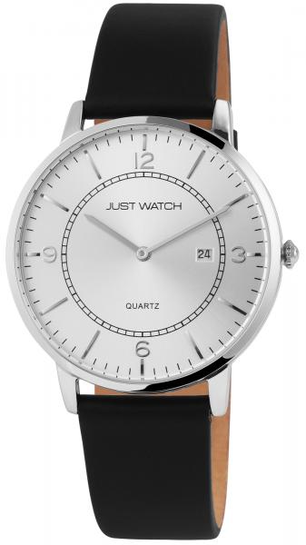 Just Watch Herren-Uhr Echt Leder Datum JW261 Analog Quarz JW20131