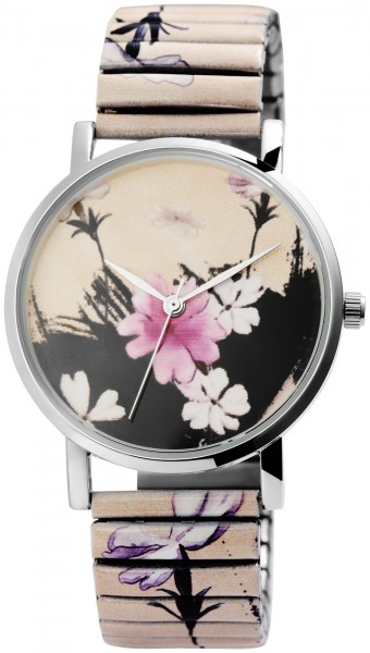 Excellanc Damen – Uhr Zugband Armbanduhr Motive Metallband Analog Quarz 1700052