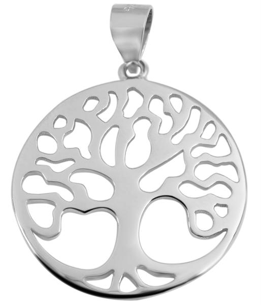 Giulia Luna-Halskette Anhänger Lebensbaum Schöpfung 925er Silber GL5210063