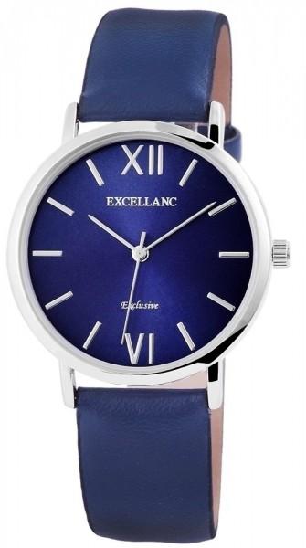 Excelland Damen-Uhr Lederimitat Dornschließe Analog Quarz 1900069