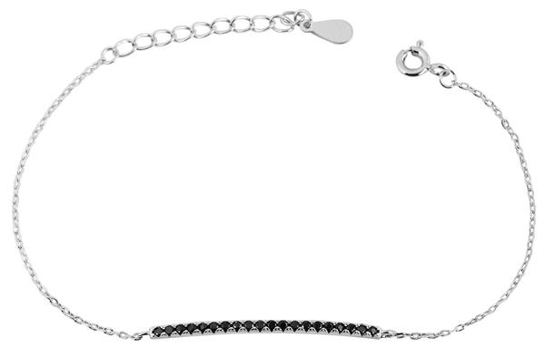 Giulia Luna - Armband 925er Silber Strass-Stein rhodiniert 16+3 cm GL5240004