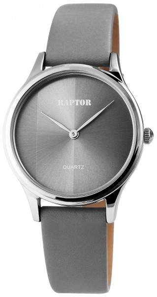 Raptor Damen-Uhr Armband Oberseite Echt Leder Elegant Analog Quarz RA10004