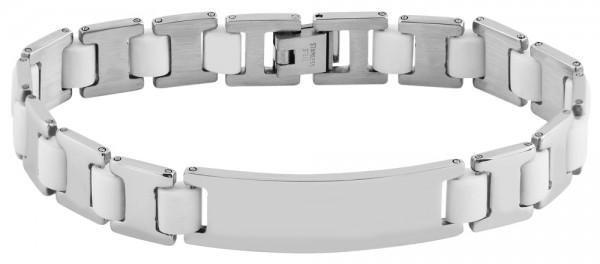 Akzent Unisex-Armband Gravur Kautschul Edelstahl 5030323
