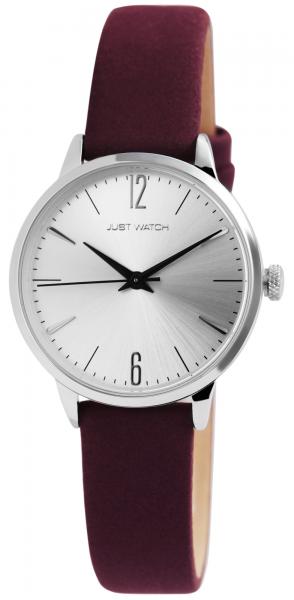 Just Watch Edith Damen-Uhr Echt Leder Dornschließe Analog Quarz JW10108