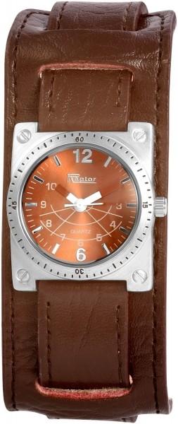 Raptor Damen-Uhr Echtleder Armband Analog Quarz RA10090