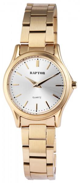 Raptor Damen-Uhr Edelstahl Armbanduhr Analog Quarz RA10079
