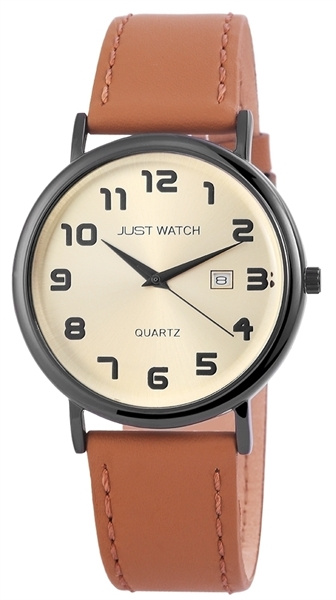 Just Watch Herrenuhr Analog - JW10772BK-BE