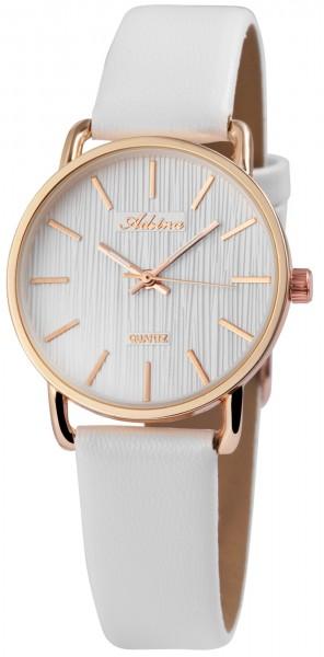 Adrina Damen – Uhr Lederimitat Armbanduhr Dornschließe Analog Quarz 2910015