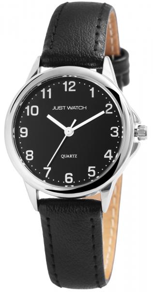 Just Watch Damen-Uhr Echt Leder Klassisch Elegant Analog Quarz JW10069