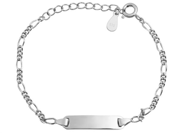 Giulia Luna Armband Plättchen 925er Silber 14+3 cm Armkettchen GL5240010