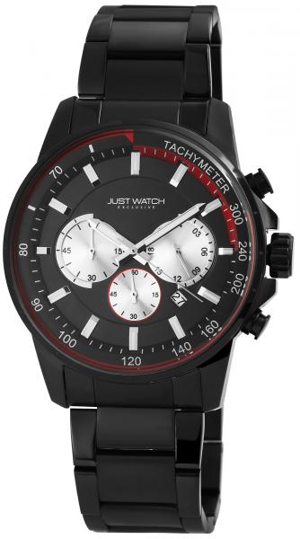 Just Watch Exclusive Herren-Uhr JW114 Chronograph Edelstahl Analog Quarz JW20074