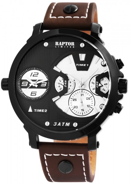 RAPTOR LIMITED Herrenuhr mit Multifunktion