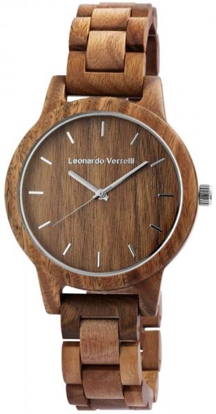 Leonardo Verrelli Herrenuhr aus Holz