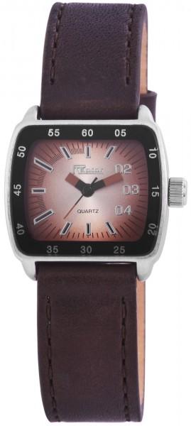 Raptor Damen-Uhr Echtleder Armband Analog Quarz RA10093