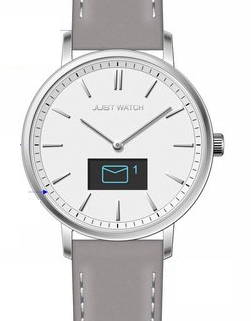 Just Watch Damen Hybrid Smart Watch