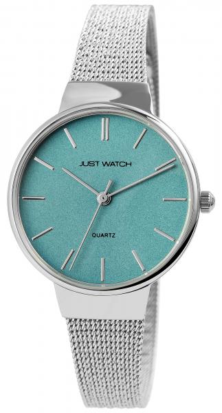 Just Watch Damen-Uhr JW267 Milanaiseband Hakenverschluß Analog Quarz JW10132