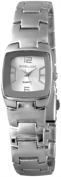 Excellanc Analog Damenuhr, Metall, Silber - 180422500023