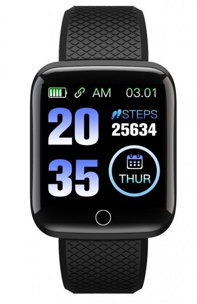 TimeTech Smart Watch Unisex Fitness Tracker Silikon Uhr Digital 2440003
