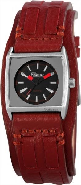 Raptor Damen-Uhr Unterlegarmband Echt Leder Analog Quarz RA10105